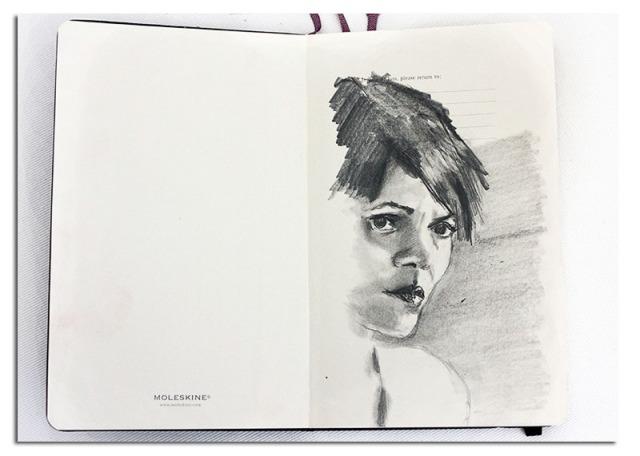 Halle Berry - Moleskine