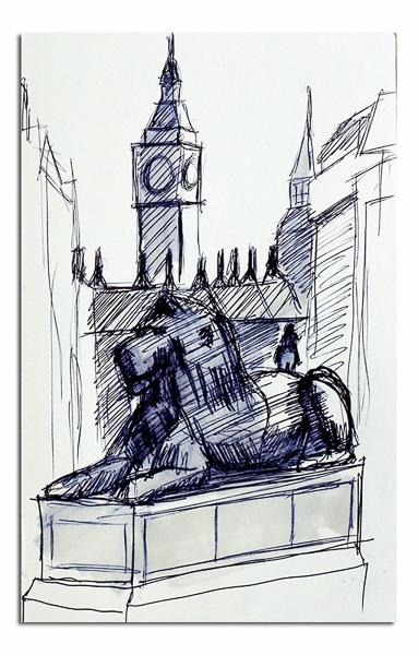 Lion - Trafalgar Square