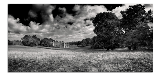 Calke Abbey House from Park