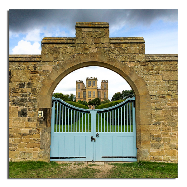 Gate - Hardwick Hall
