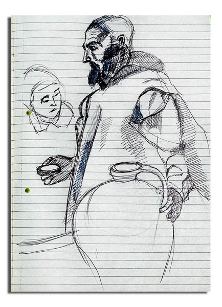 Sketch of The Water Carrier of Seville