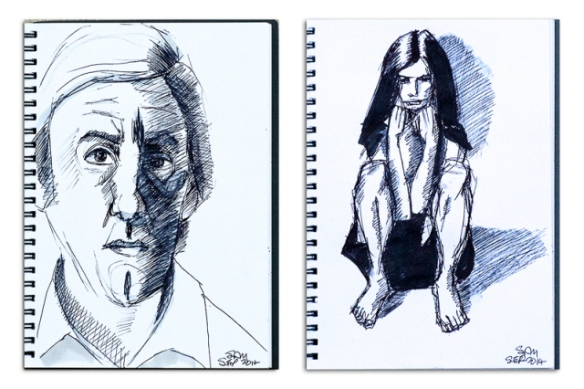 Ink Drawings Combo 0001