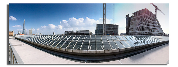 Roof of Tate Modern - London