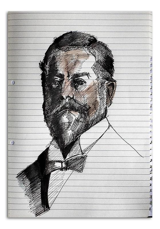 John Singer Sargeant Sketch
