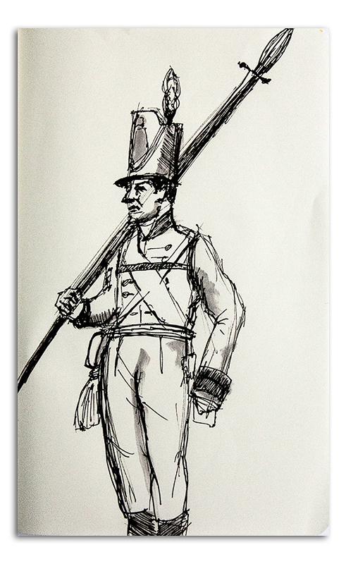 Nepolionic Soldier