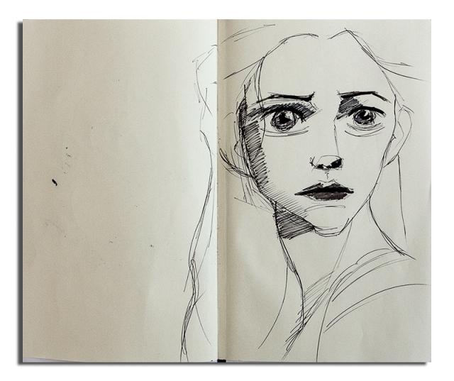 Worried Elffin Woman