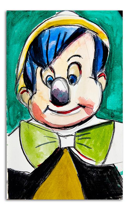 Scary Pinocchio