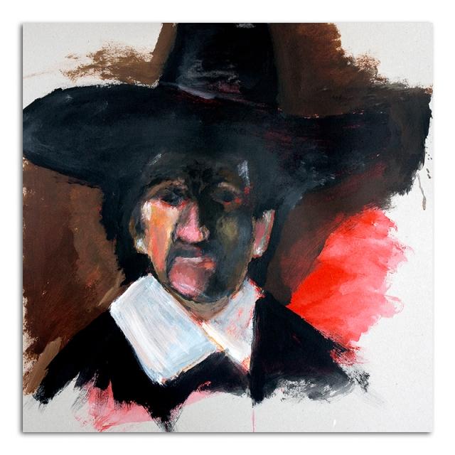 Rembrandt Portrait of a Poet