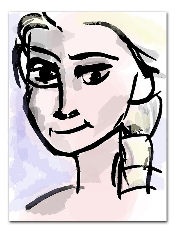 Quick frozen Sketch