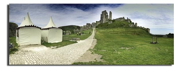 Corfe Castle - Photograph