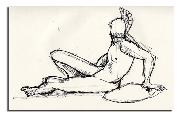 Chatsworth Sketch
