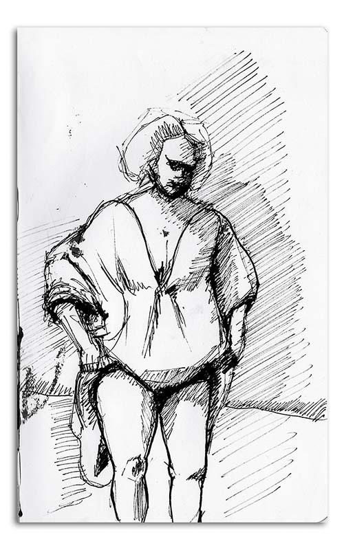 Rembrandt sketch No 02