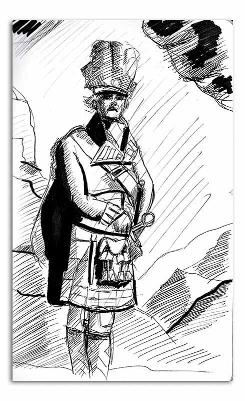 Man in Kilt