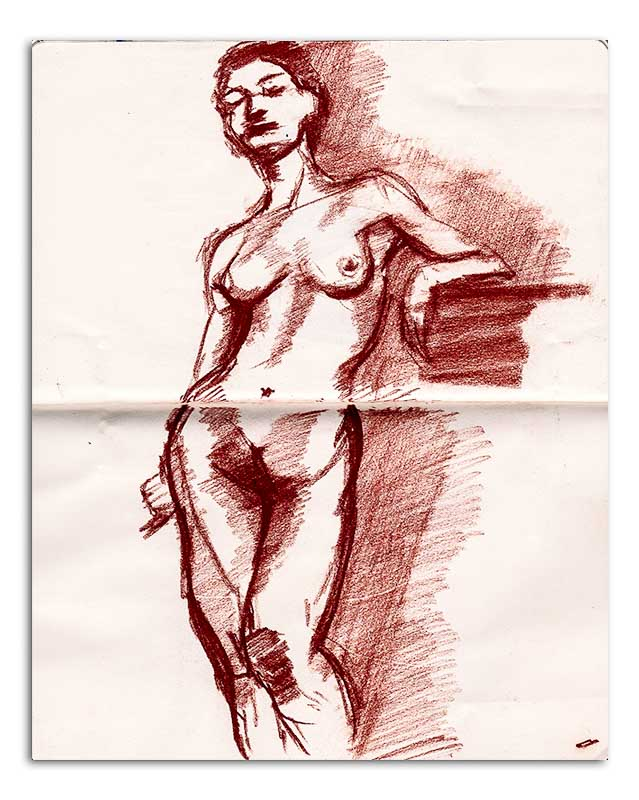 Nude - Standing 001