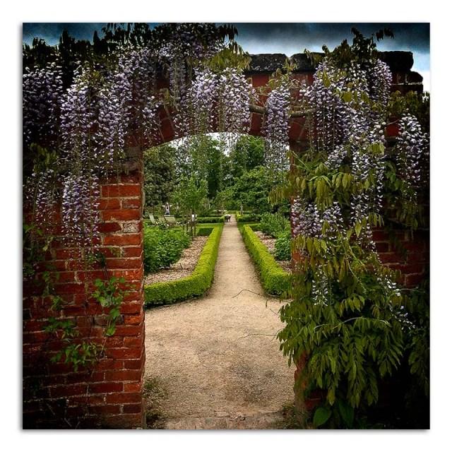 Calke Abbey Garden through Gateway