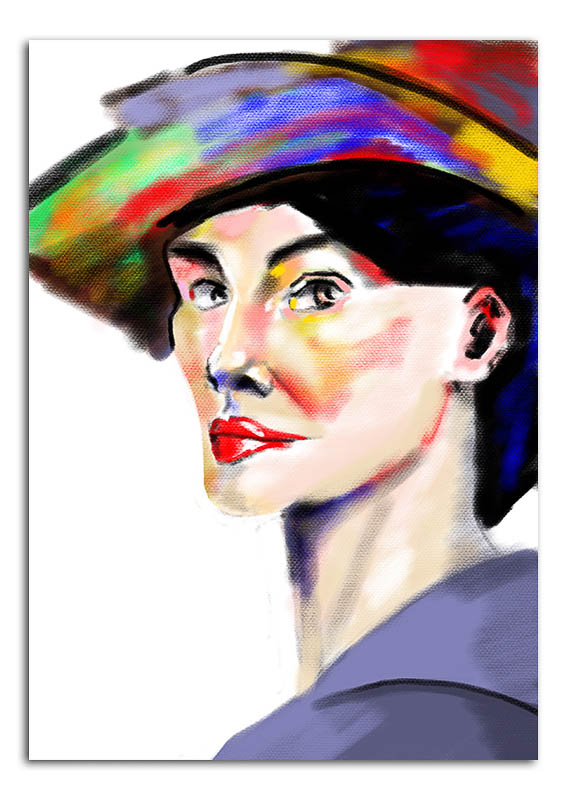 woman-with-coloured-hat