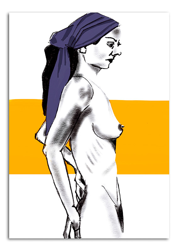 nude-woman-with-orange-stripe
