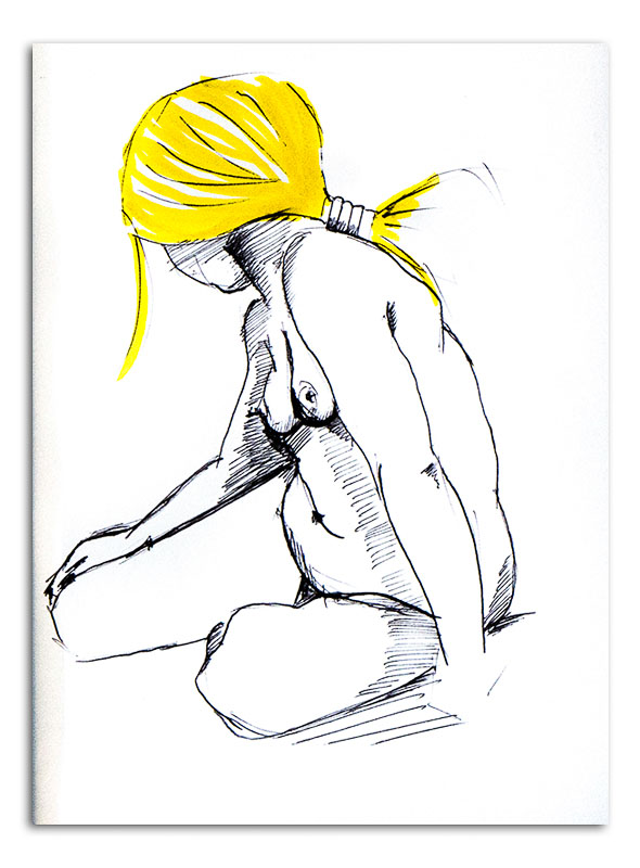 nude-woman-with-yellow-hair